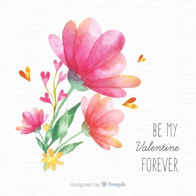 Valentinstag hintergrund Kostenlosen Vektoren