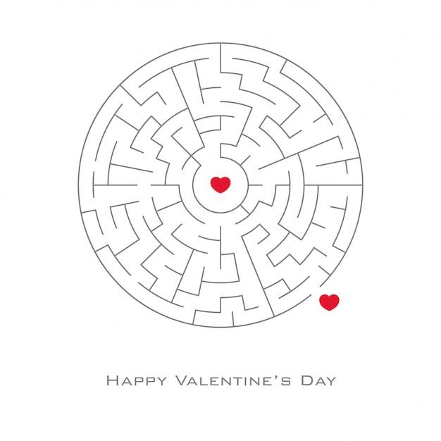 Valentinstag hintergrund Premium Vektoren