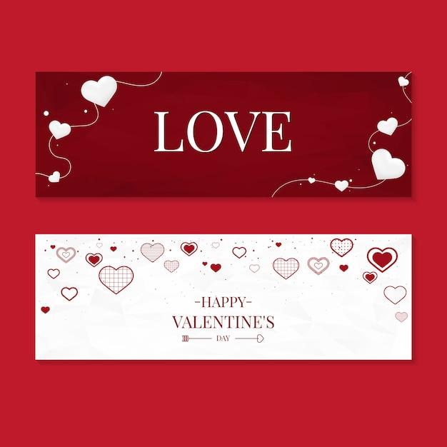 Valentinstag-ikonen-illustrationssammlung Kostenlosen Vektoren