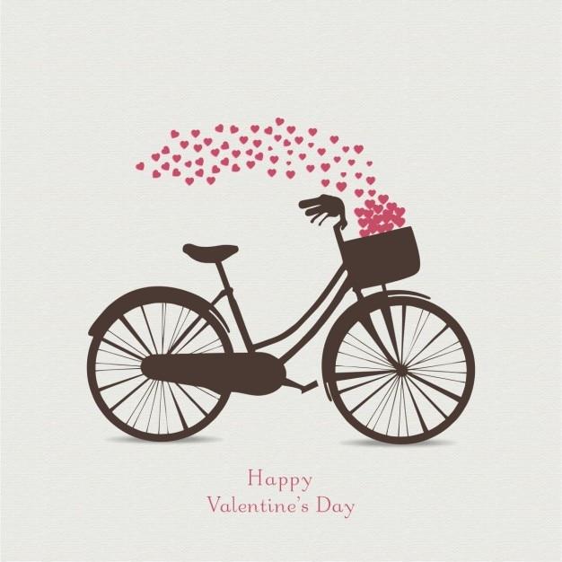 Valentinstag-karte Kostenlosen Vektoren