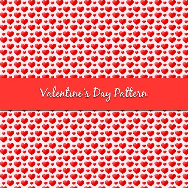 Valentinstag muster Premium Vektoren