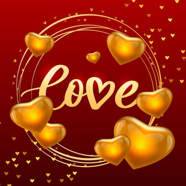 Valentinstag poster, karte, etikett, banner brief slogan vektorelemente für valentinstag design-elemente. typografie liebesherz Premium Vektoren