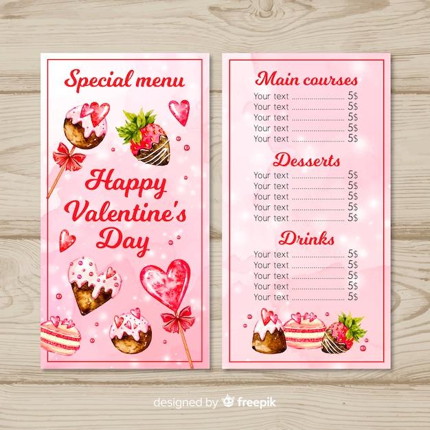 Valentinstagskarte Kostenlosen Vektoren