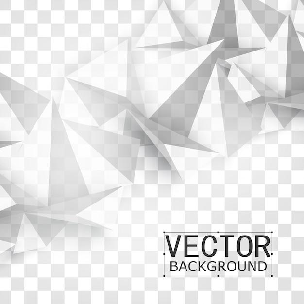 Vector abstrakte geometrische form aus grau. Kostenlosen Vektoren