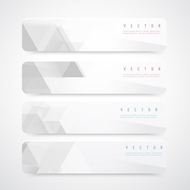 Vector abstrakte geometrische form aus grauen würfeln. Kostenlosen Vektoren