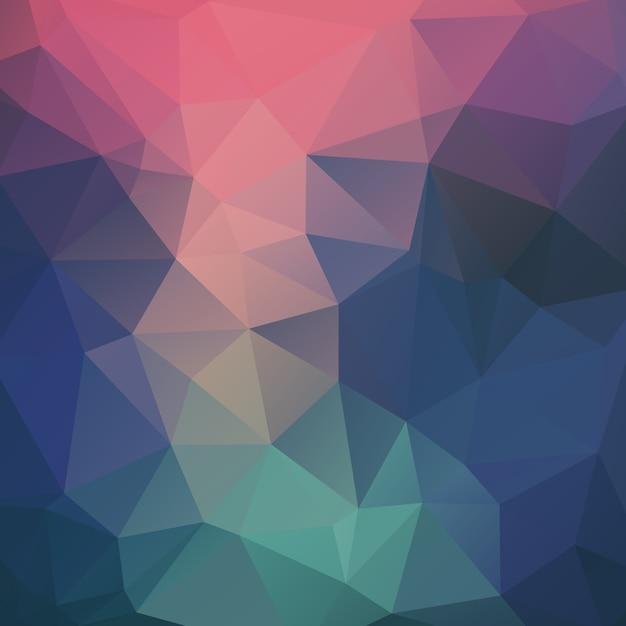 Vector dreieck mosaik hintergrund Kostenlosen Vektoren