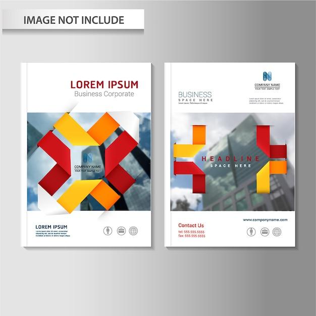 Vektor abstrakte hintergrund broschüre flyer vorlage Premium Vektoren