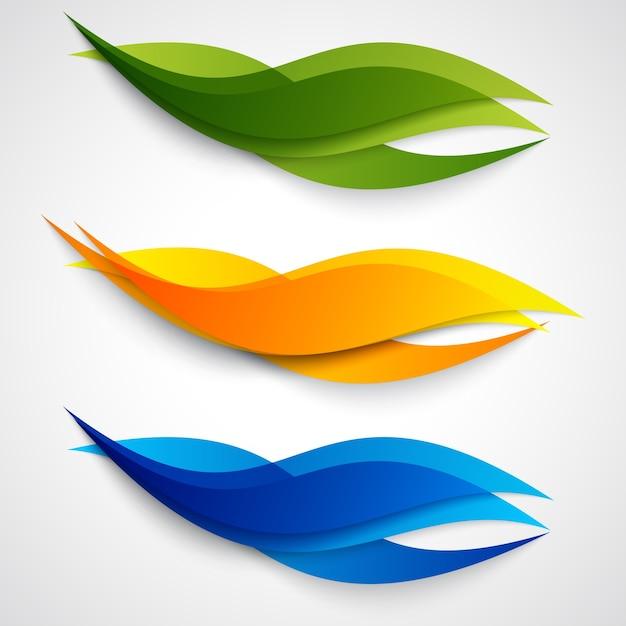 Vektor abstrakten hintergrund design. Kostenlosen Vektoren