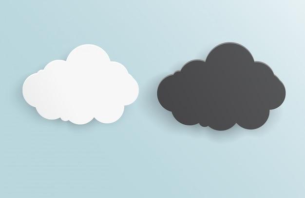 Vektor abstrakten hintergrund gewitter wolke. Kostenlosen Vektoren