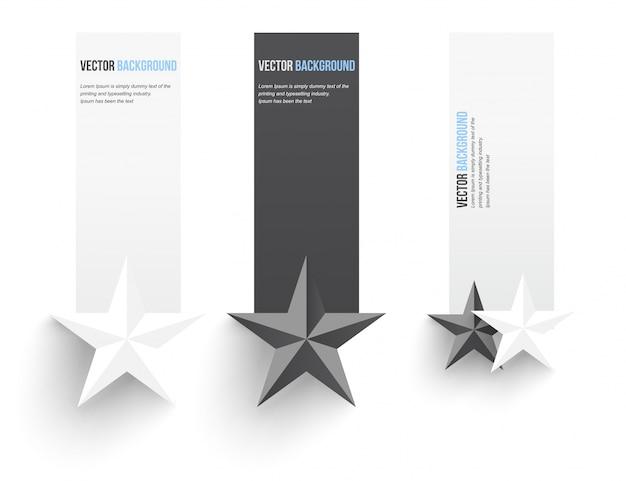 Vektor abstrakten hintergrund. infografische banner Kostenlosen Vektoren