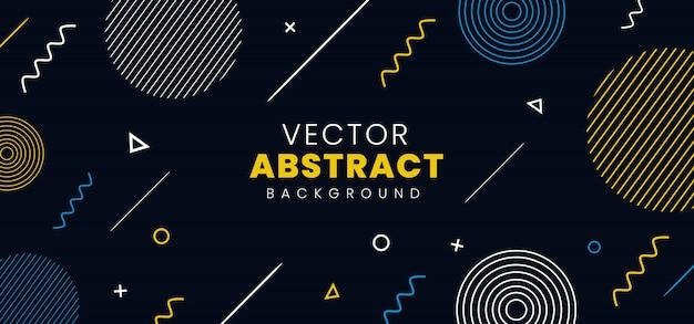 Vektor abstrakten hintergrund Premium Vektoren