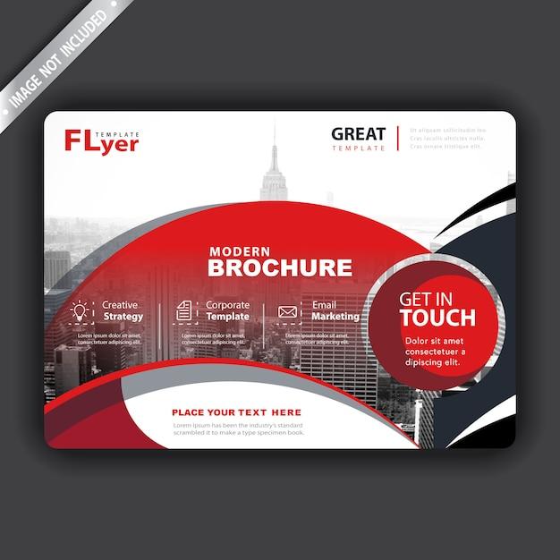 Vektor-broschüren-cover-präsentation Kostenlosen Vektoren