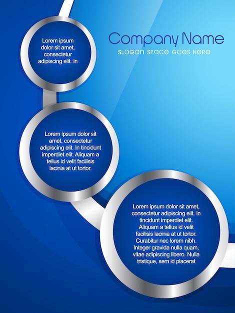 Vektor firma broschüre flyer magazin abdeckung und vorlage design Kostenlosen Vektoren
