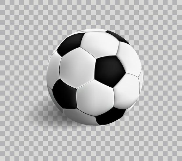 Vektor Fussball Symbol Auf Transparenz Premium Vektor