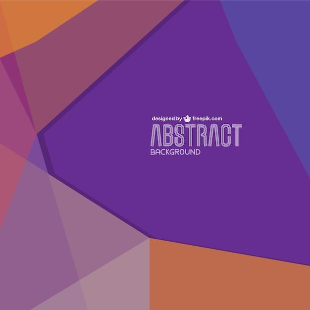 Vektor-geometrischen hintergrund-design Kostenlosen Vektoren