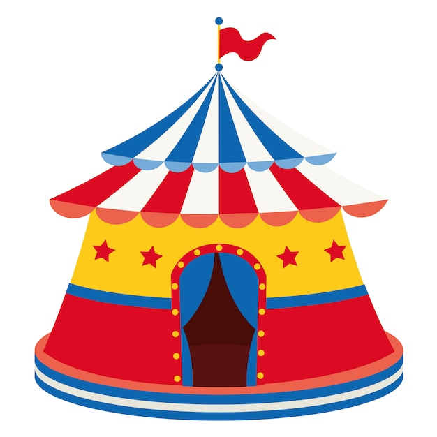 Vektor-illustration des zirkus Premium Vektoren