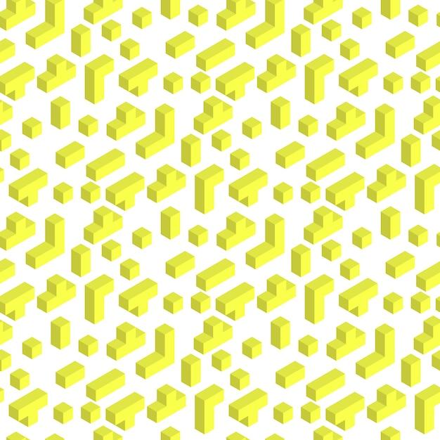 Vektor-illustration, die ziegelstein seamles-muster spielt Premium Vektoren