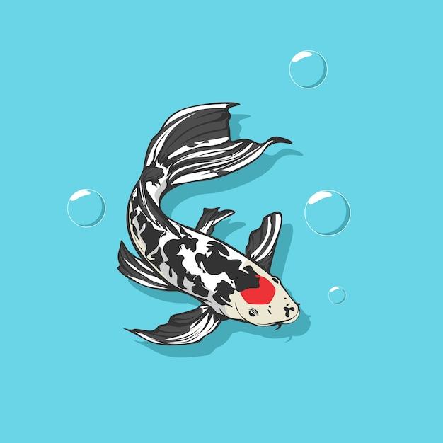Vektor-illustration von fischen Premium Vektoren