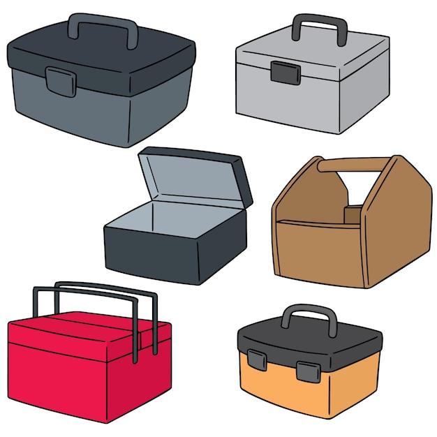 Vektor-set von toolbox Premium Vektoren
