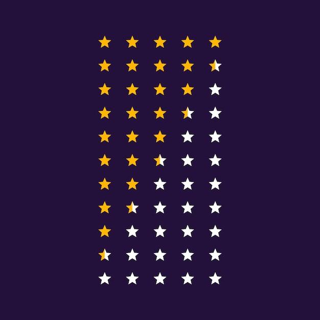 Vektor sterne symbol symbole Kostenlosen Vektoren