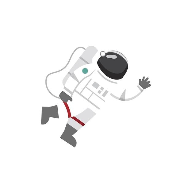 Vektor von astronaut Kostenlosen Vektoren