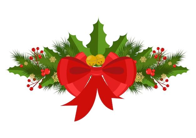 Vektor weihnachtsdekoration feier Premium Vektoren