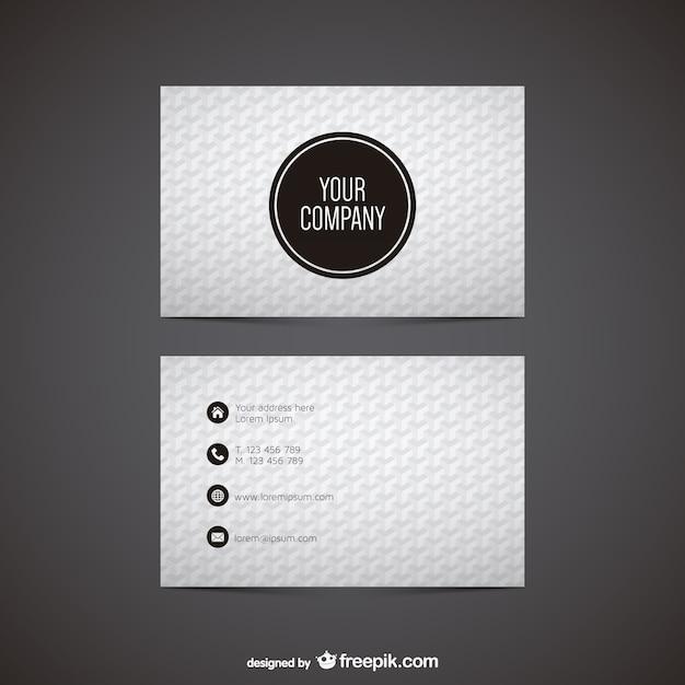Vektorgrafiken Visitenkarte Kostenlosen Download