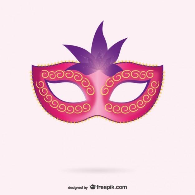 Venezianische Maske Vektor | Download der kostenlosen Vektor