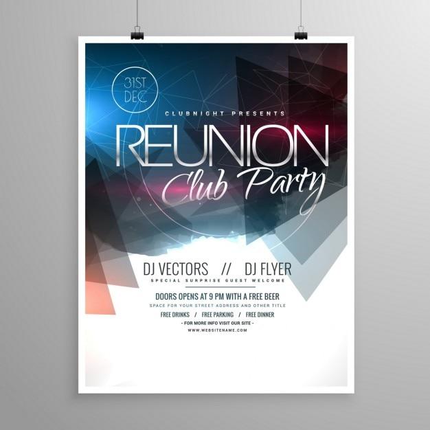 Veranstaltung Club-Party Flyer Vorlage Broschüre Design | Download ...