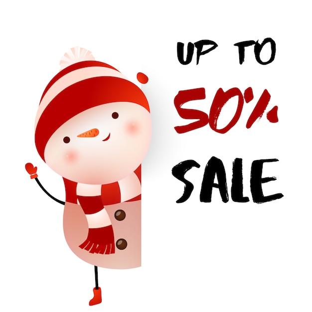 Verkauf von bis zu fünfzig prozent plakatgestaltung Kostenlosen Vektoren