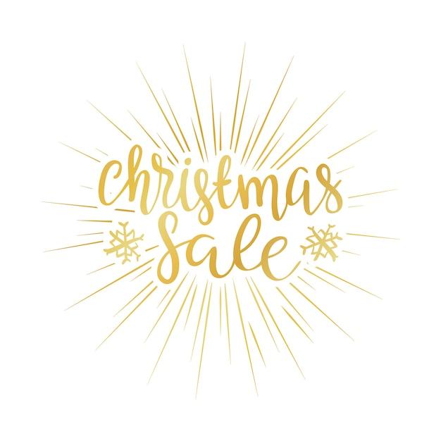 Verkaufshintergrund der frohen weihnachten perfektes dekorationselement für karten, einladungen und o Kostenlosen Vektoren