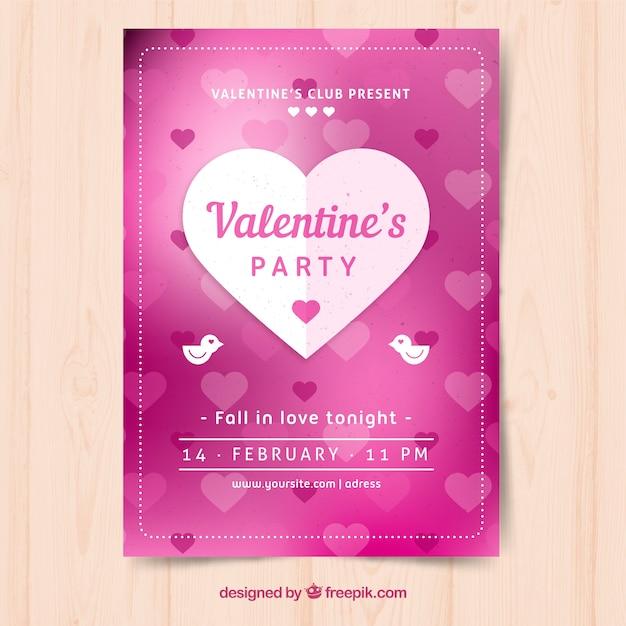Valentinstag Flyer Ganda Fullring Co