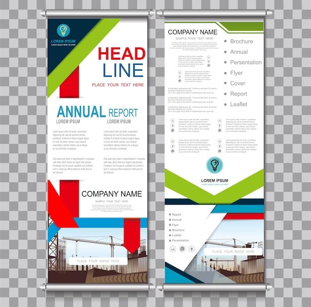 Vertikale Banner Design Schild Werbung Broschüre | Download der ...