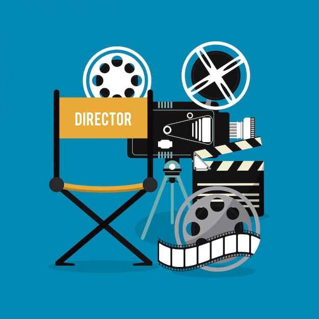 Videokamera Schindel Film Film Kino Symbol.   Download der Premium ...