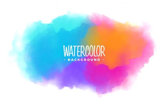 Viele farben aquarellfleck textur hintergrund Kostenlosen Vektoren
