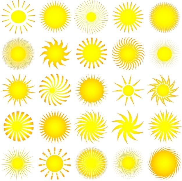 Sonnensymbole