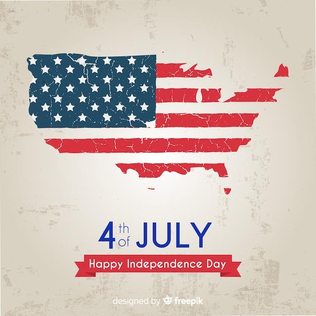Vierter juli Kostenlosen Vektoren