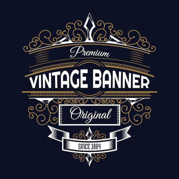 Vintage hintergrund design kostenlos