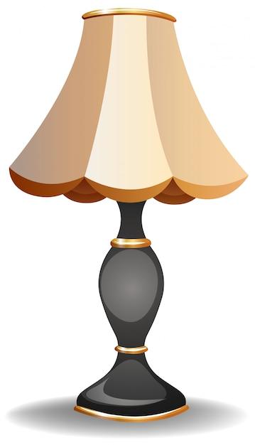 Vintage lampe Kostenlosen Vektoren