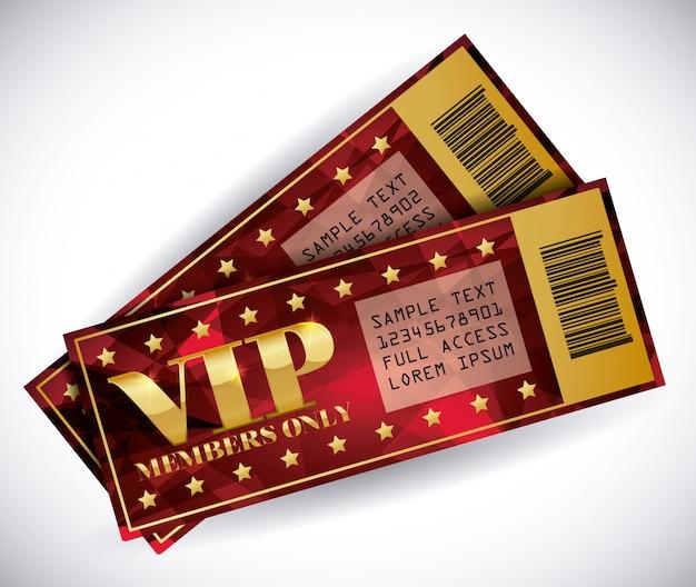 Vip mitglied Premium Vektoren