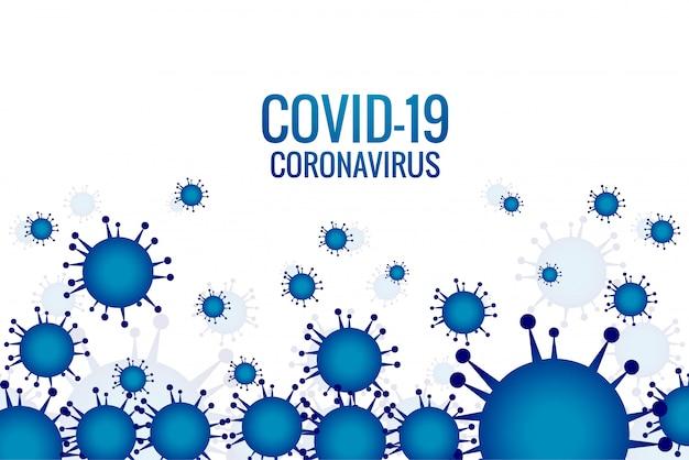 Virusinfektion oder hintergrund der bakteriengrippe Kostenlosen Vektoren