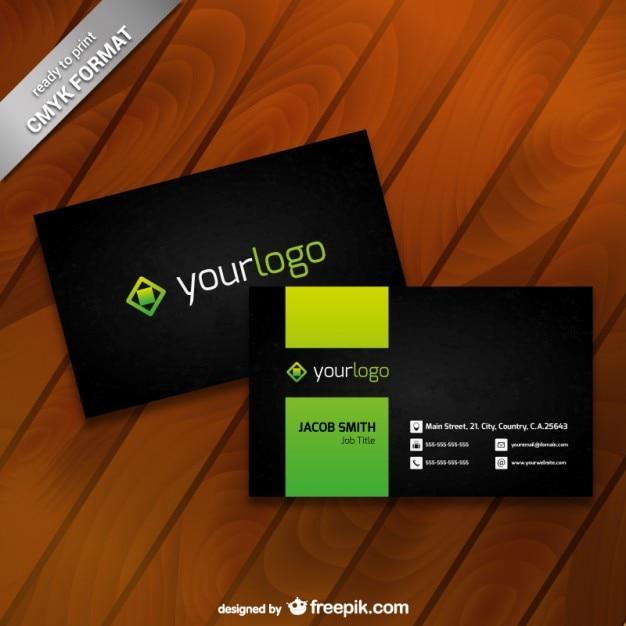 Visitenkarte Vorlage Mit Logo Download Der Kostenlosen Vektor