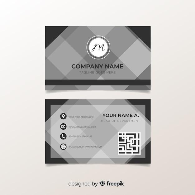 Visitenkarte Download Der Kostenlosen Vektor