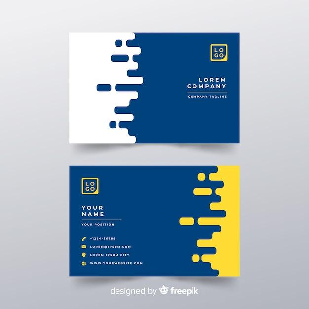 Visitenkarte Kostenlosen Vektoren