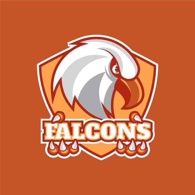 Vogel maskottchen logo vorlage Premium Vektoren