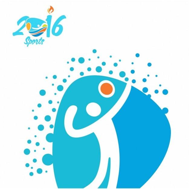 volleyball rio olympiasymbol download der kostenlosen
