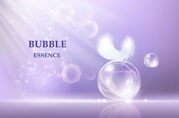 Vorlage für kosmetische hautpflegeprodukte. Premium Vektoren