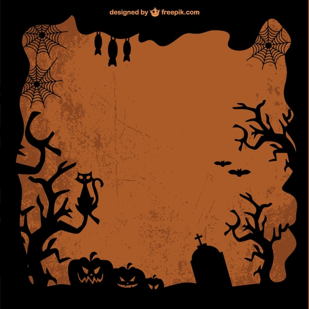 vorlage kostenlos vektor kunst von halloween download der kostenlosen vektor. Black Bedroom Furniture Sets. Home Design Ideas