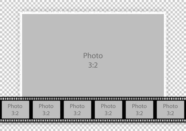 Vorlagen-fotorahmen-collagen Premium Vektoren