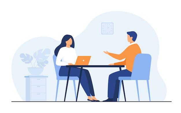 Vorstellungsgespräch Kostenlosen Vektoren